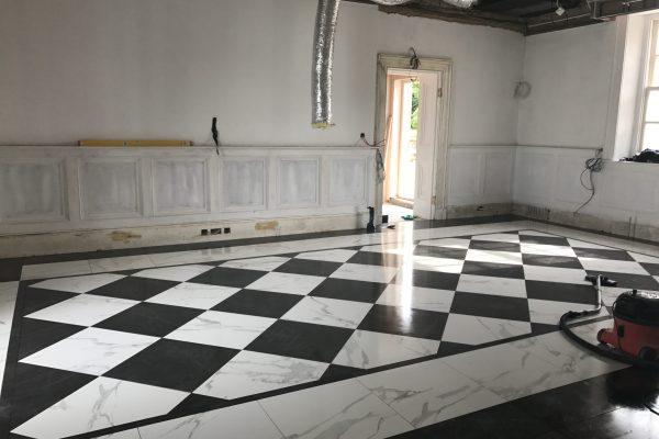 lounge tiling